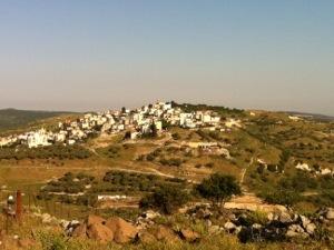 Druze village, mount meron