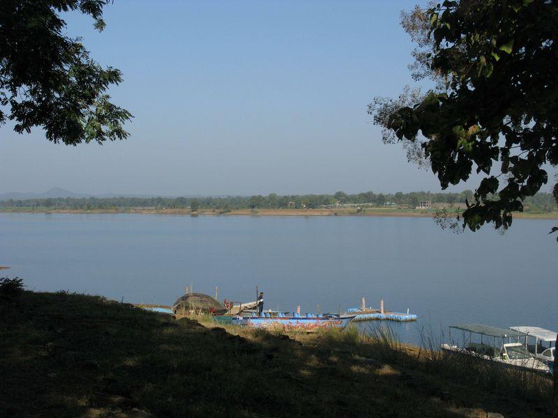 Denwa backwaters