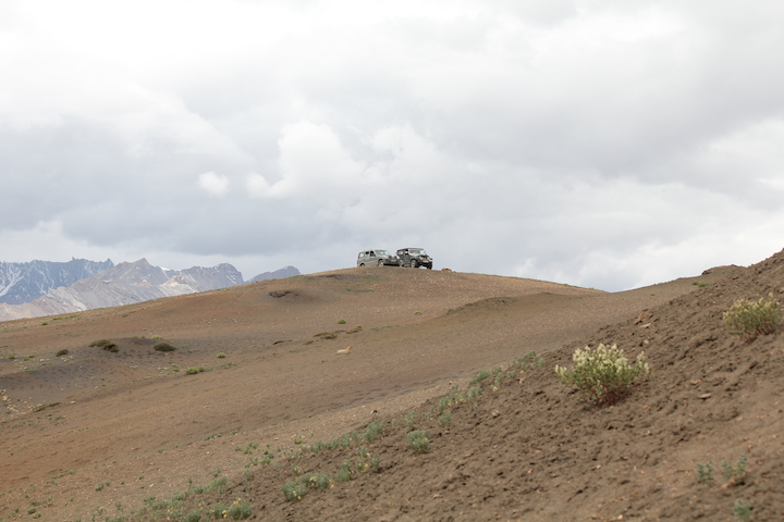 at the top(offroad)