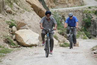 Cycling from Chitkul